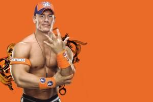 john cena wallpaper orange