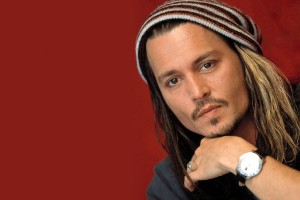 johnny depp wallpaper beanie