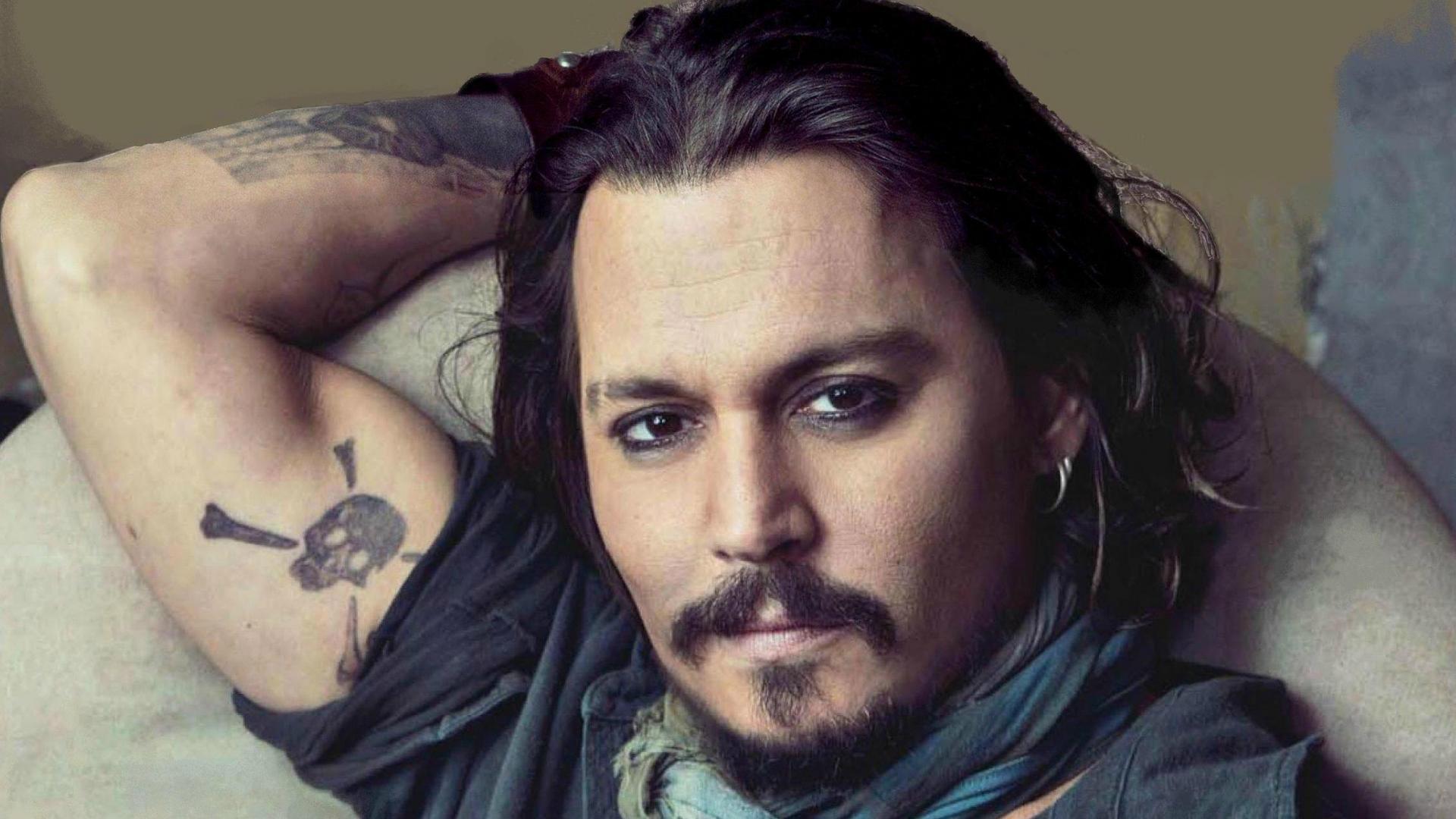 johnny depp wallpaper tatoo