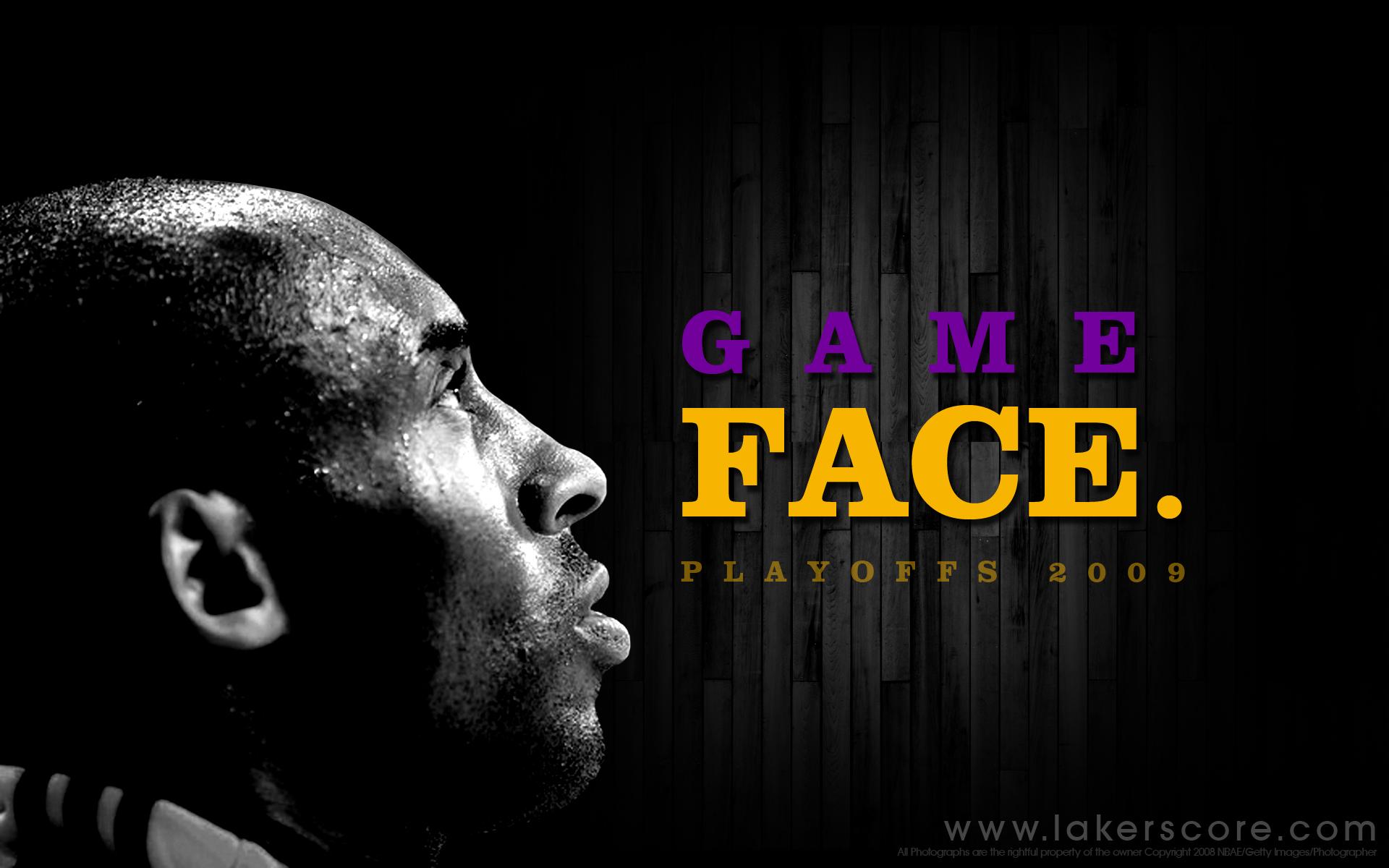 lakers wallpaper game face