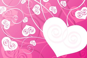 love wallpaper pink heart