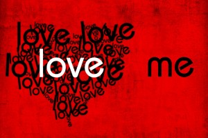 love wallpaper red