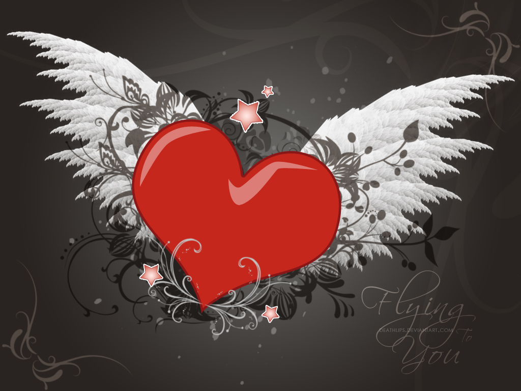 Love Wallpapers For Desktop Hd 2015 : love wallpaper wings - HD Desktop Wallpapers 4k HD