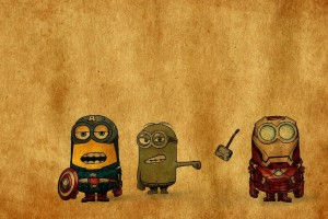 marvel wallpapers despicable me
