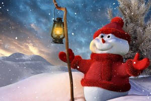 merry christmas wallpapers snowmans