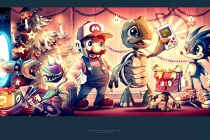 merry christmas wallpapers video game