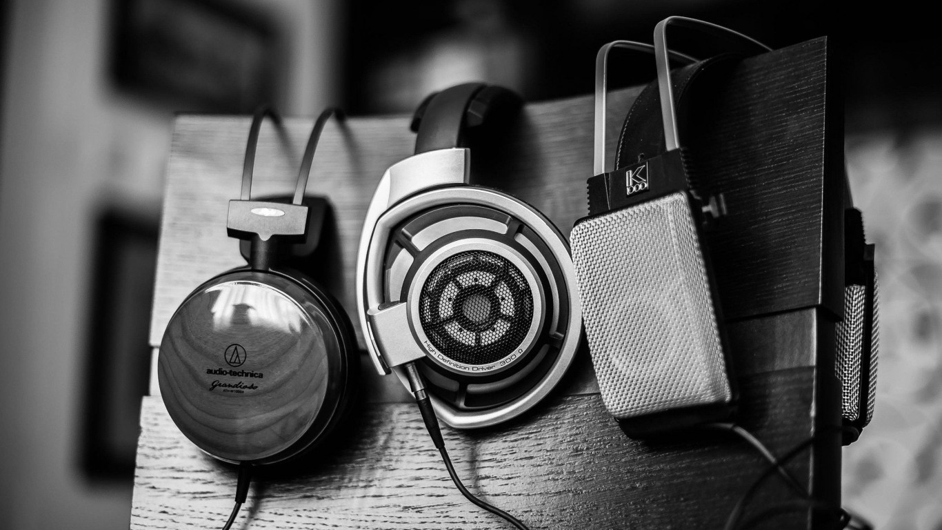 music wallpaper Headphones