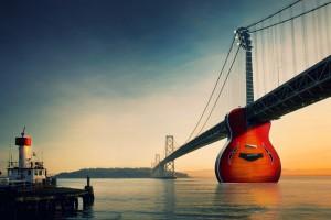 music wallpaper guitar