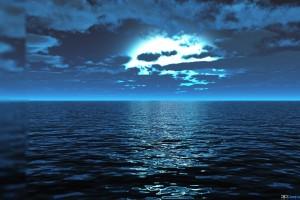 ocean wallpaper night