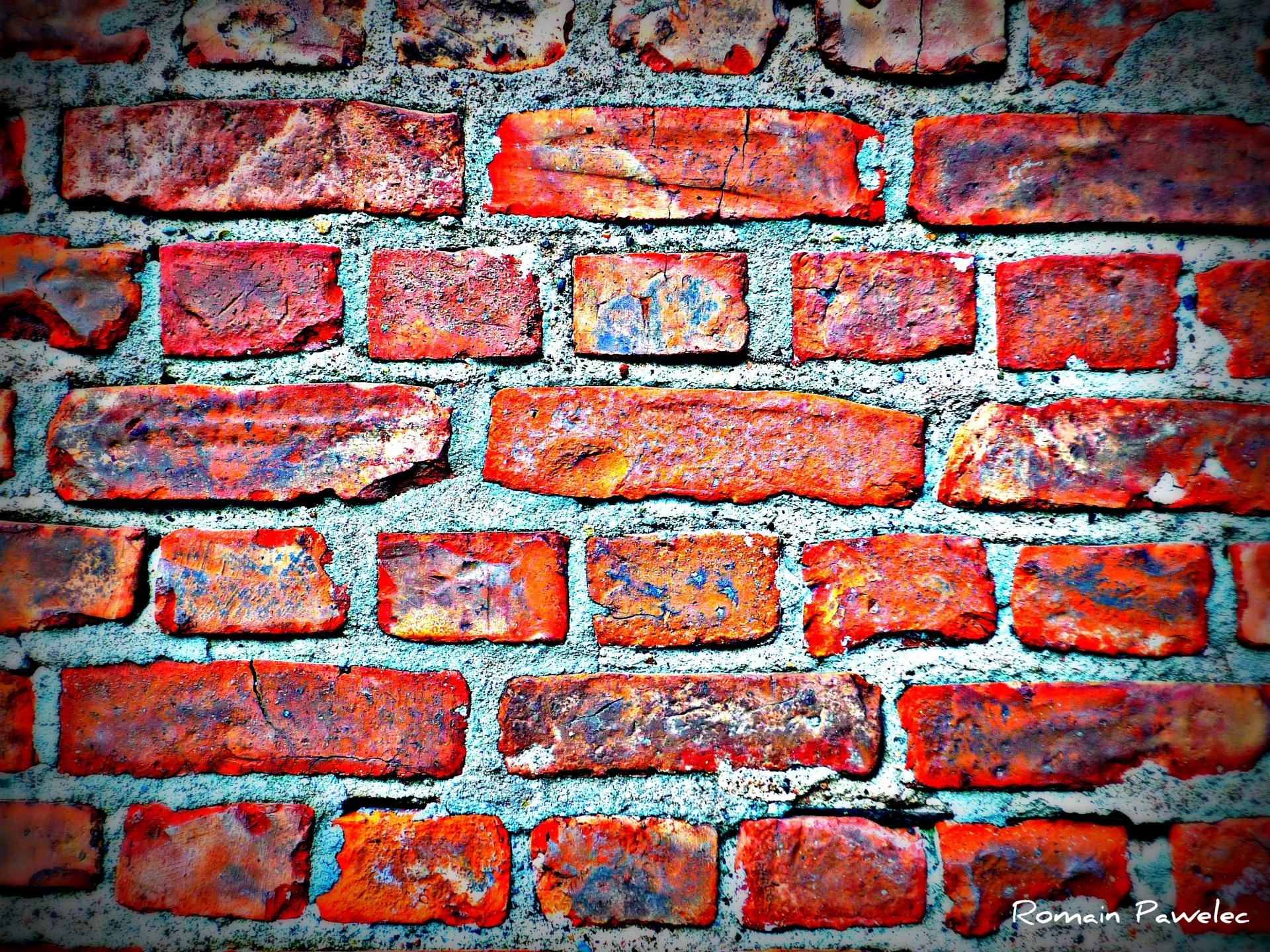 Red brick wallpaper hd desktop wallpapers 4k hd for Brick wallpaper