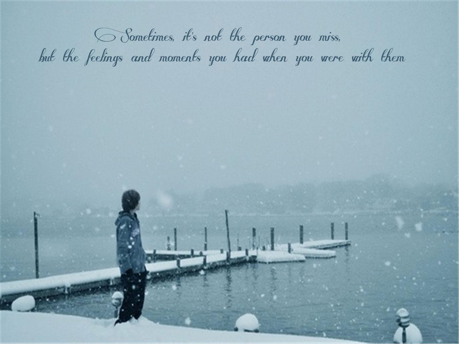 Sad Love Quotes Wallpaper