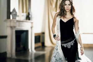shakira wallpaper black