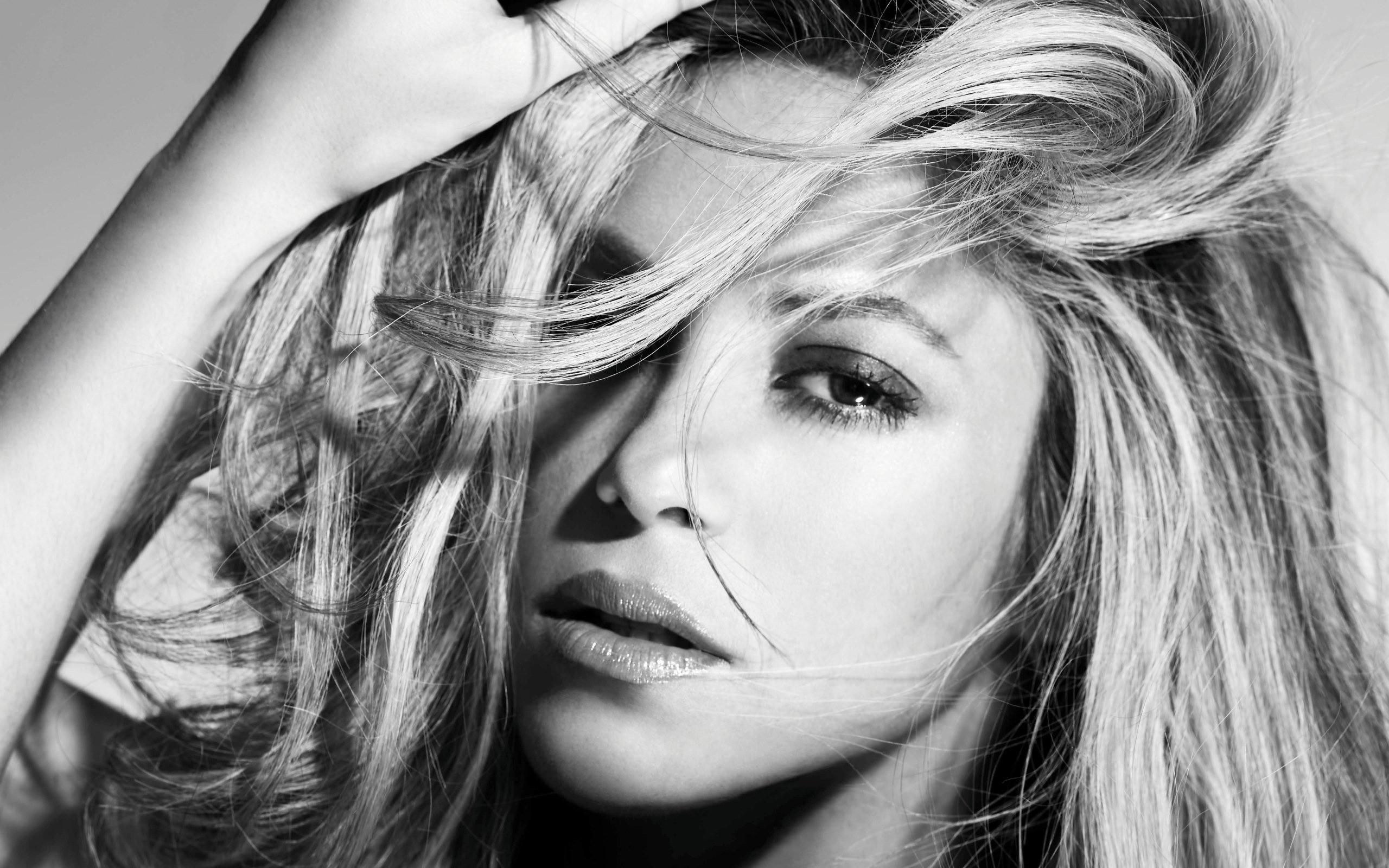 Shakira Wallpaper Black And White Hd Desktop Wallpapers 4k Hd