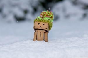 snow wallpaper danbo