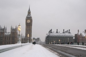 snow wallpaper london