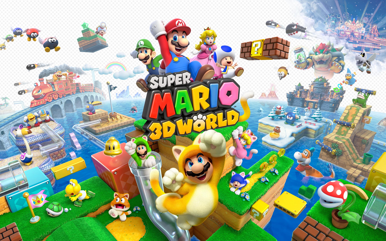 super mario world wallpaper 3d