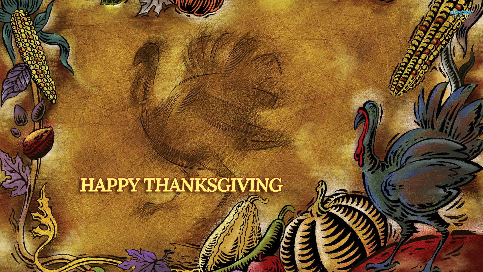 thanksgiving wallpapers vintage