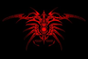 tribal wallpapers red
