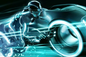 tron wallpapers blue