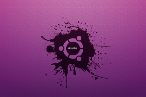 ubuntu wallpaper purple funky