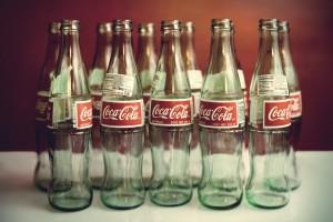 vintage wallpaper cola