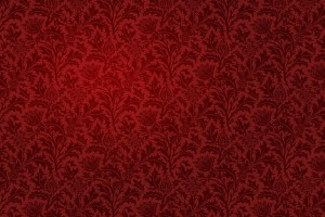 vintage wallpaper red