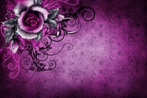 vintage wallpaper rose purple