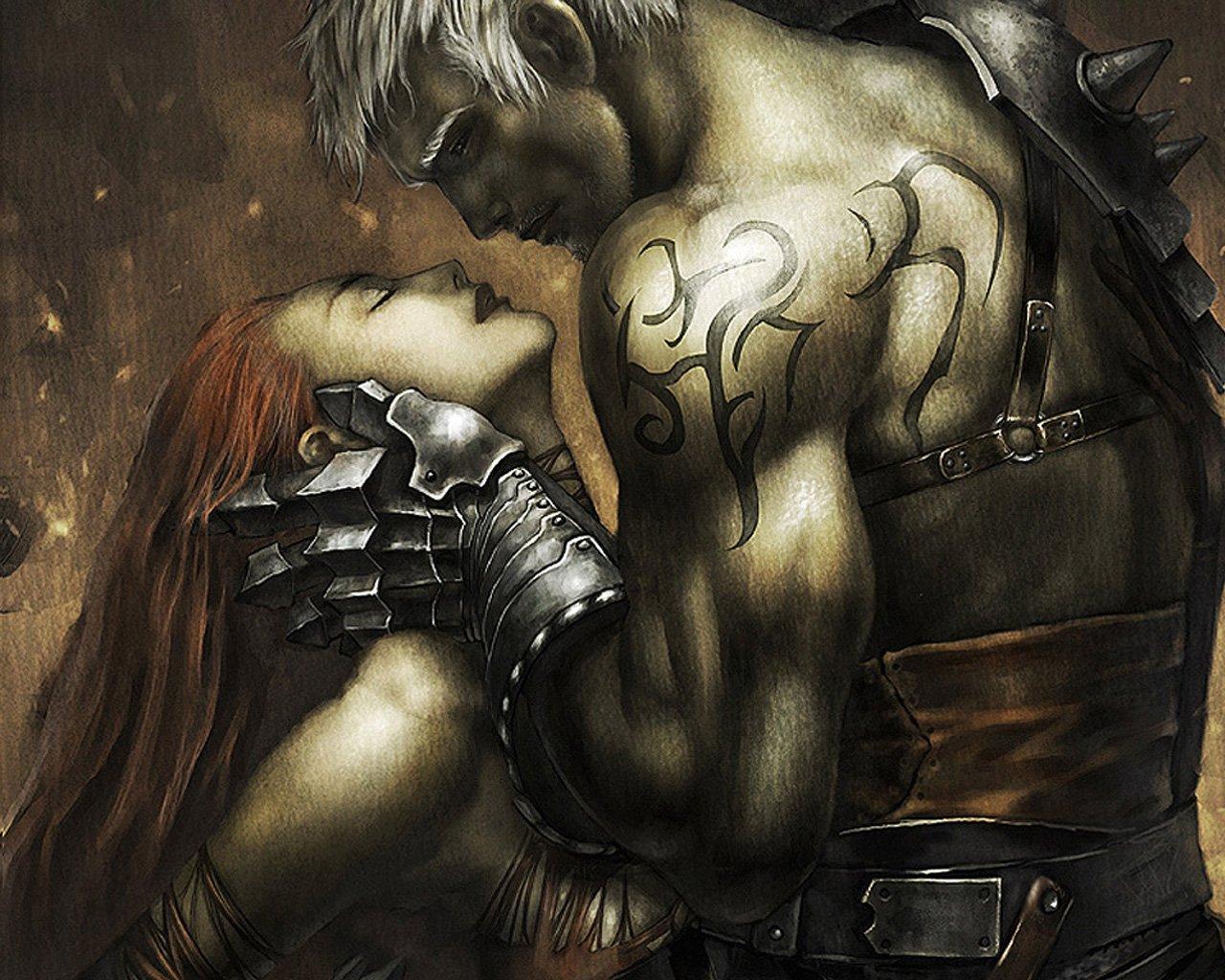 wallpaper love couple fantasy hd