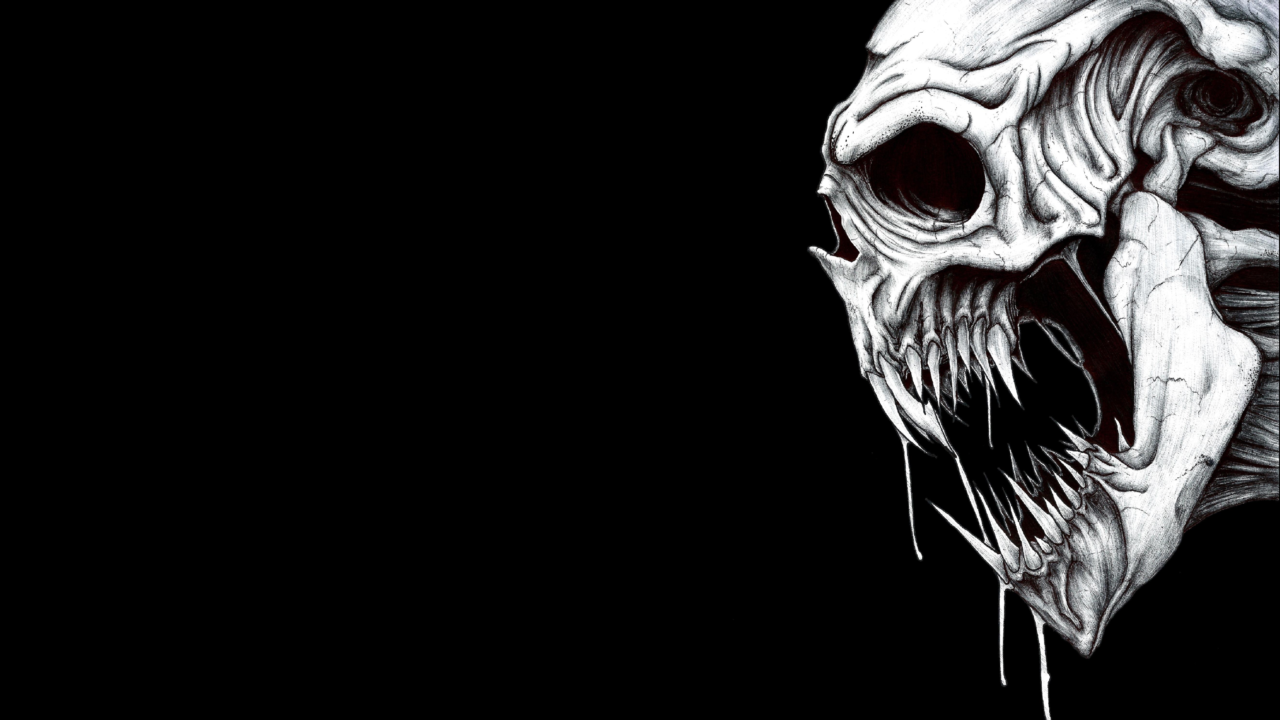 wallpaper skull