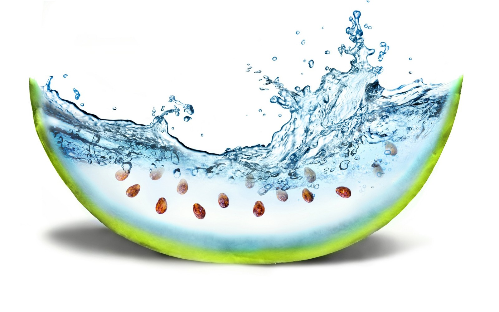 water wallpaper watermelon