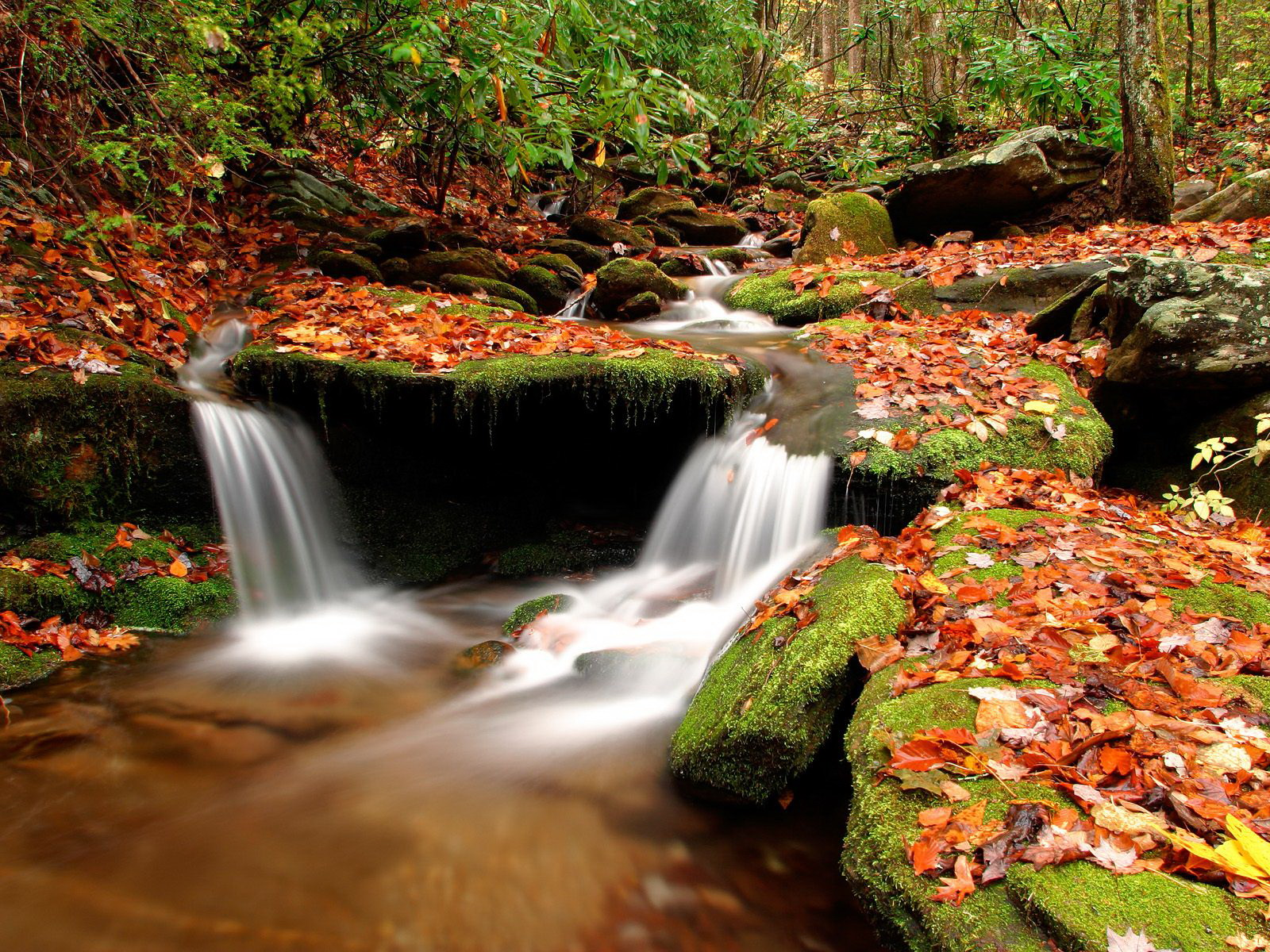 waterfall wallpapers tablet