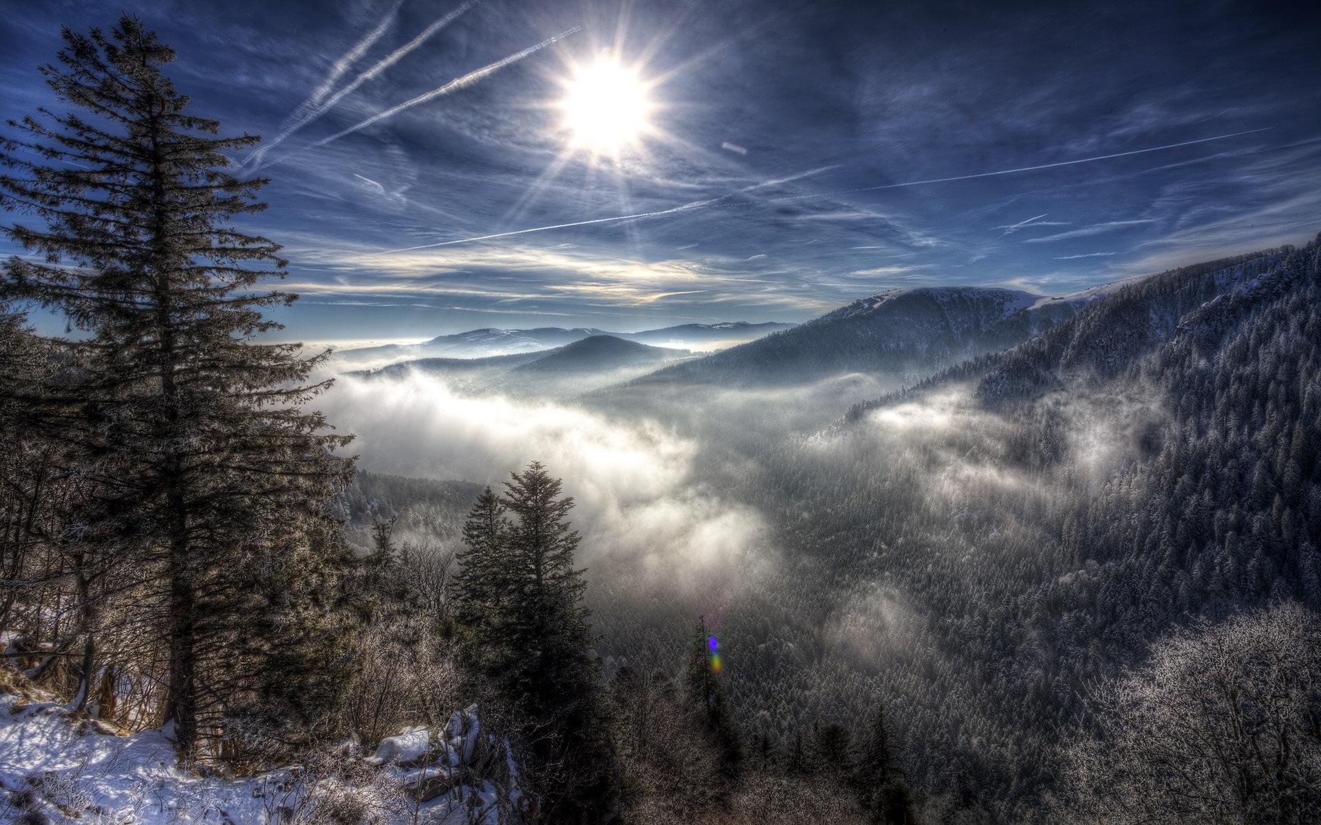winter mountain wallpaper - HD Desktop Wallpapers | 4k HD