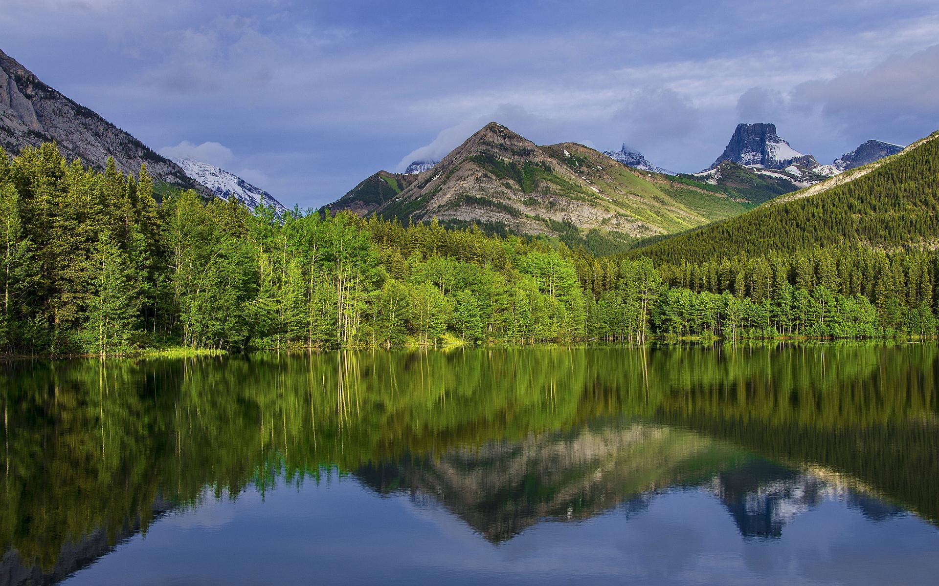 alberta, canada, mountains Wallpaper, HD Nature 4K