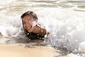 beach girl images