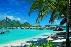 beach resort bora bora