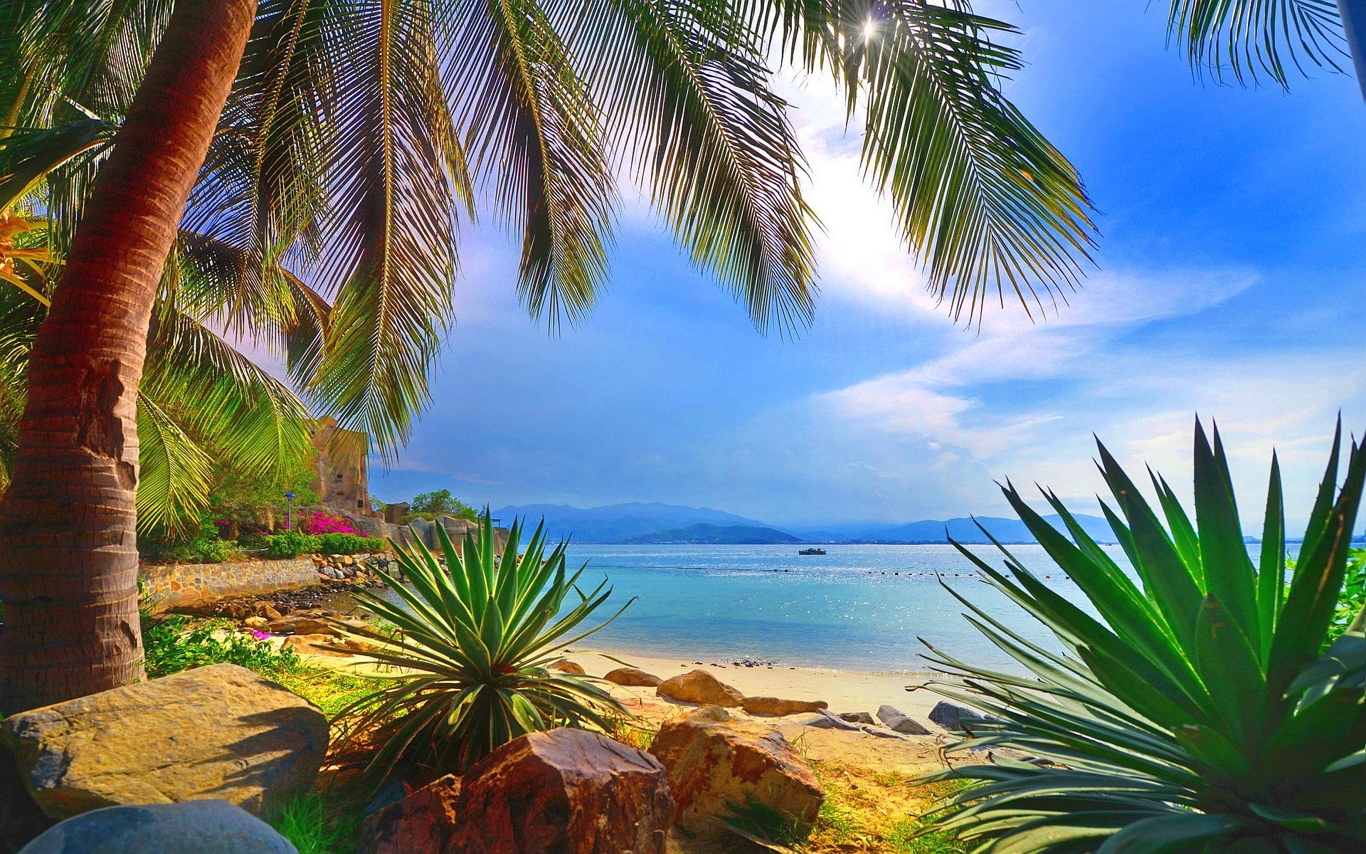 beautiful wallpaper sea shore - HD Desktop Wallpapers   4k HD
