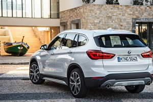 bmw x1 white rear