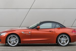 bmw z4 orange sides cool