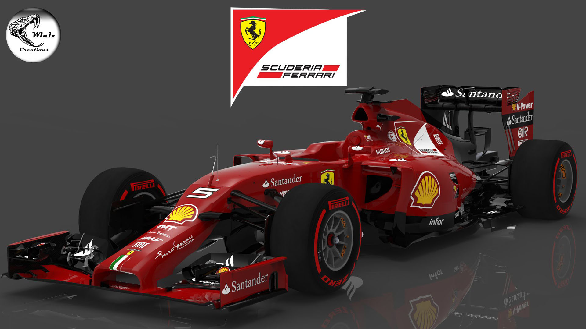 Hd f1 cars wallpapers