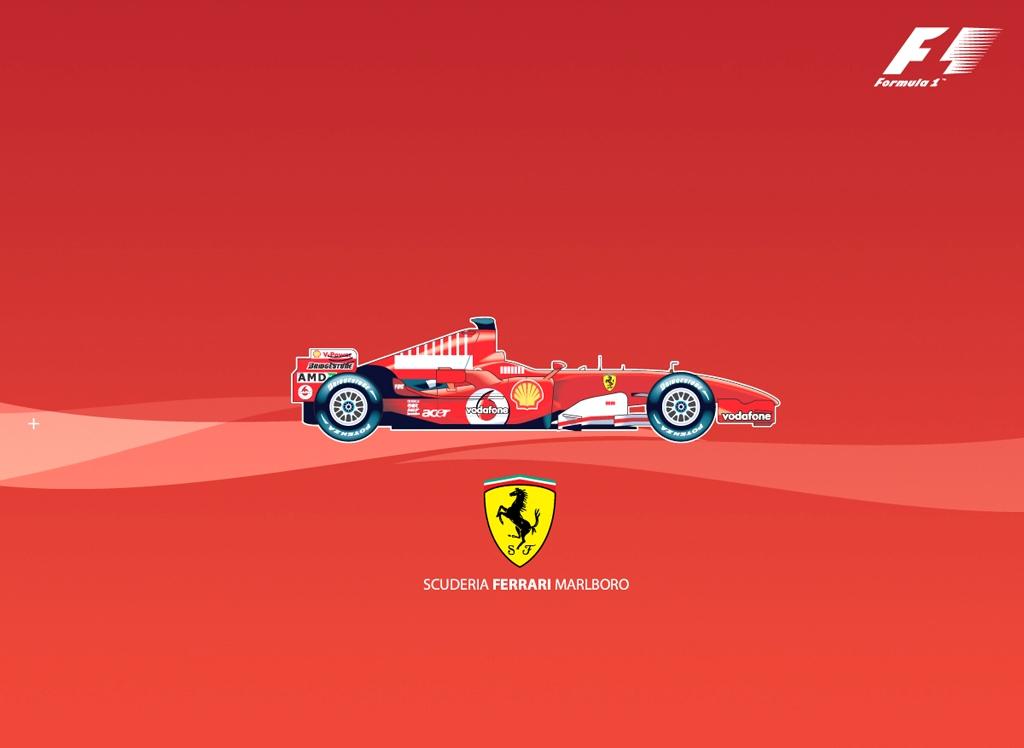 Ferrari F1 Logo Hd Desktop Wallpapers 4k Hd
