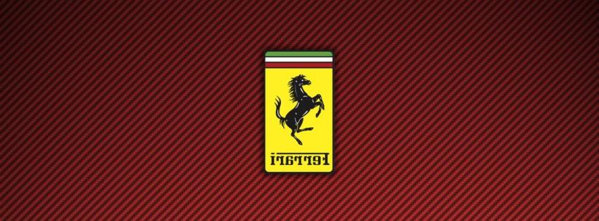 Ferrari Logo Wallpaper 4K