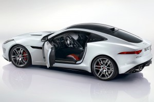 jaguar f type r coupe white images