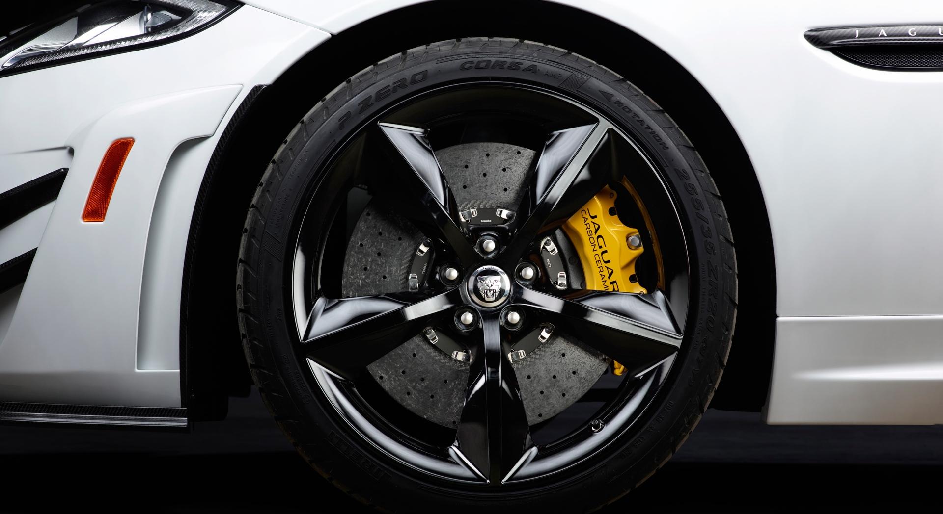 jaguar xkr white wheels