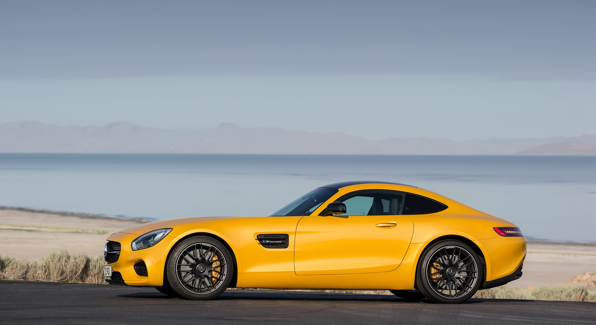 mercedes amg gt magnificent