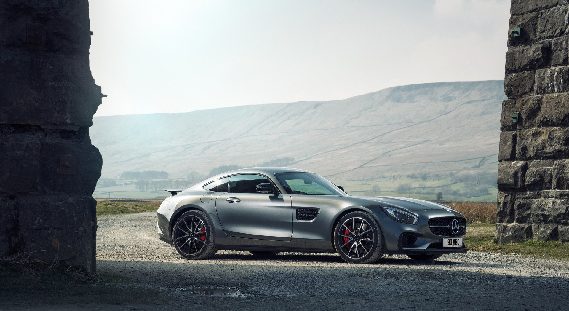 mercedes amg gt photography