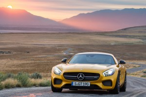 mercedes benz amg gt road