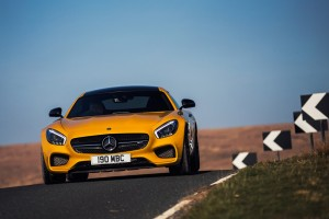 mercedes benz amg gt yellow hd