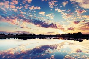 nice sunset wallpapers lake