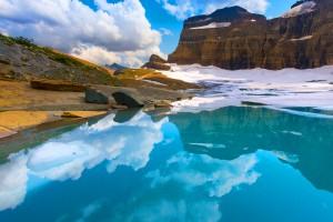 park wallpaper glacier