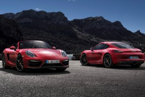 porsche cayman gts red cars
